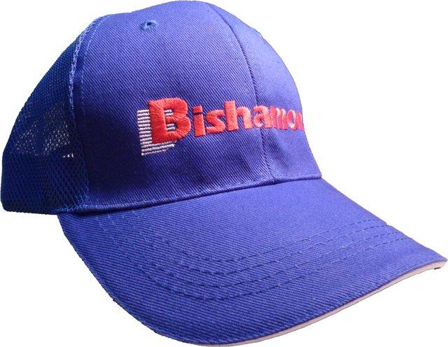 ロゴマーク入り帽子