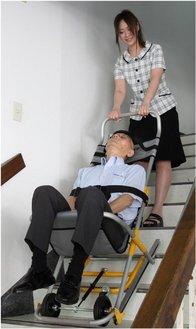 緊急階段避難車の取り扱いを開始しました